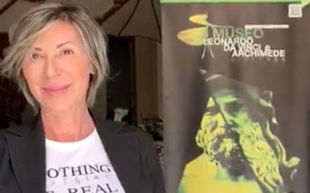 «L'unica crisi è la tragedia di non voler lottare per superarla»: Gabriella Capizzi parla del futuro del Museo Leonardo e Archimede di Siracusa