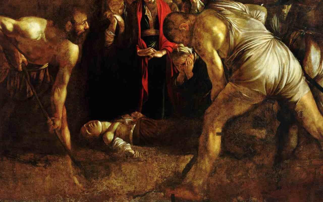 """Il ritorno del """"Seppellimento di Santa Lucia"""" di Caravaggio a Siracusa. A Rovereto una copia"""