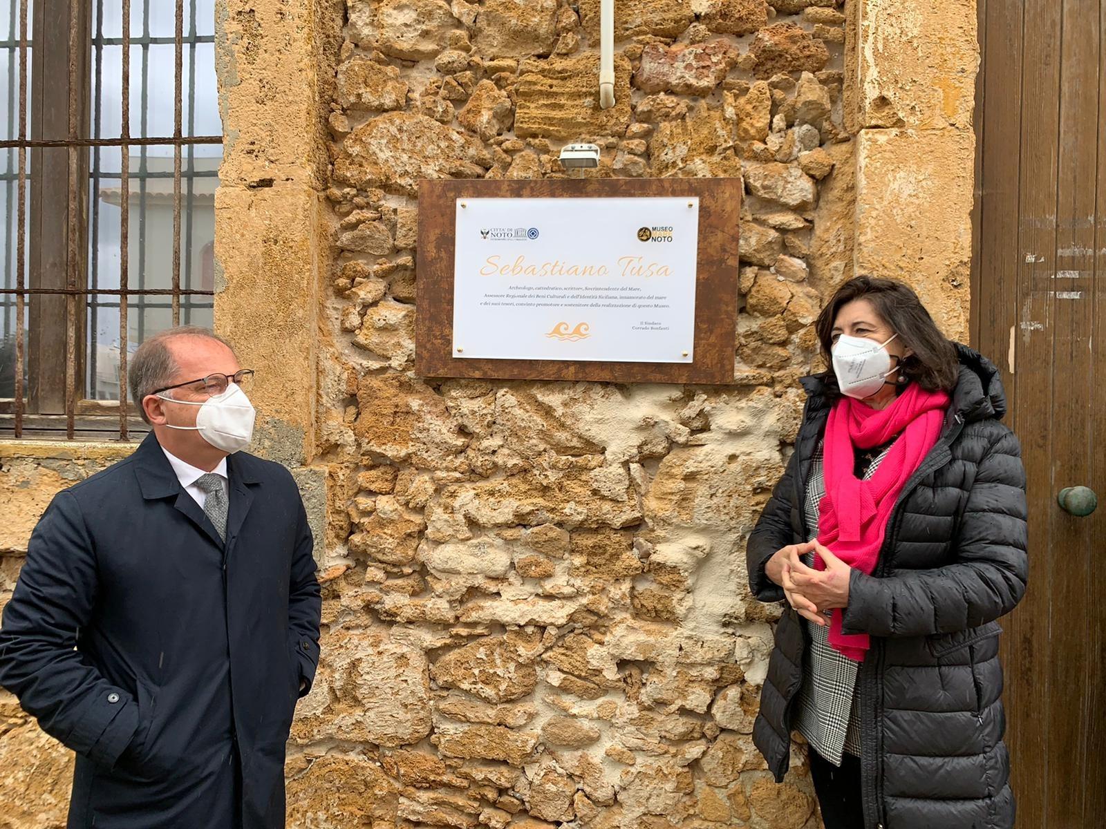 Il Museo del Mare di Calabernardo intitolato alla memoria del prof. Sebastiano Tusa