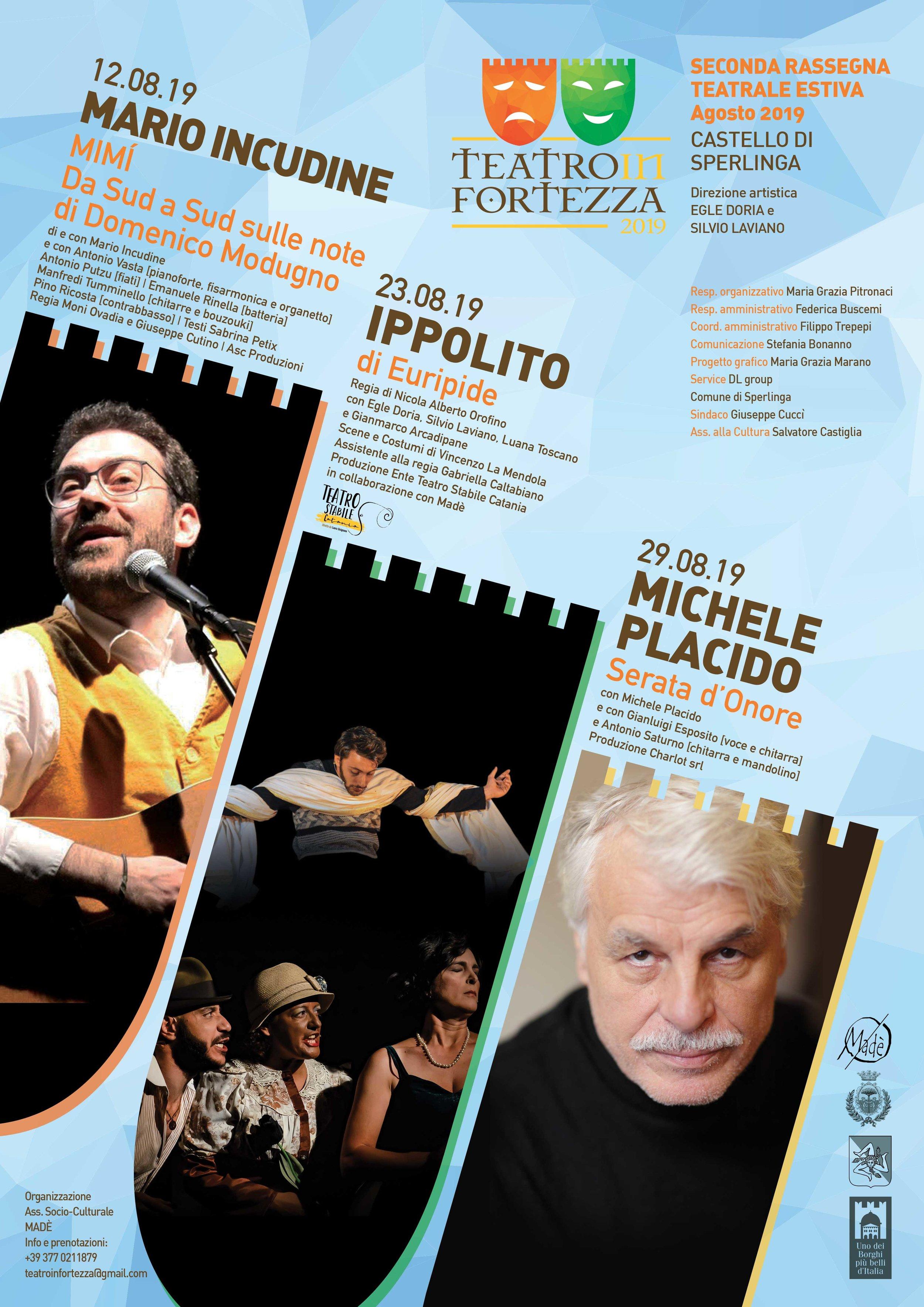 2° edizione Teatro in Fortezza al Castello di Sperlinga