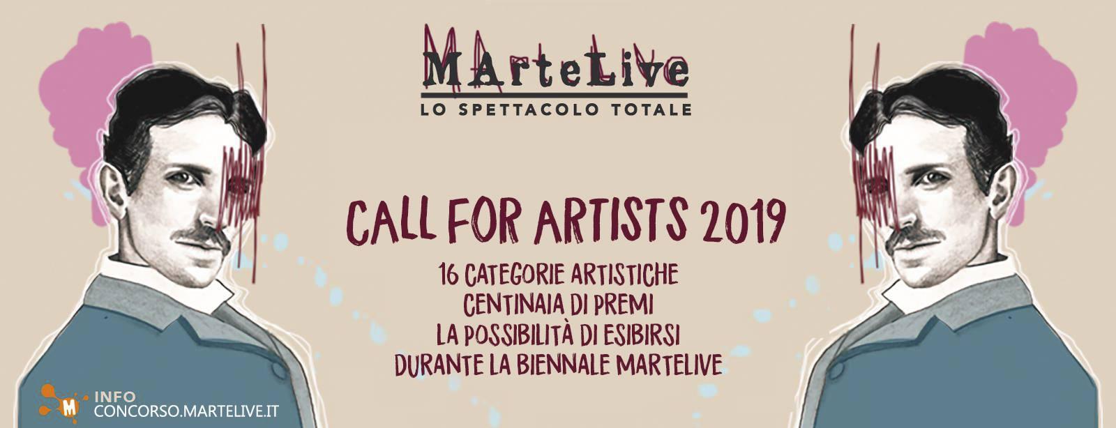 MArteLive arriva in Sicilia e seleziona artisti #callforartists2019