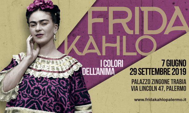 """""""Frida Kahlo - I colori dell'anima"""": la mostra a Palermo"""