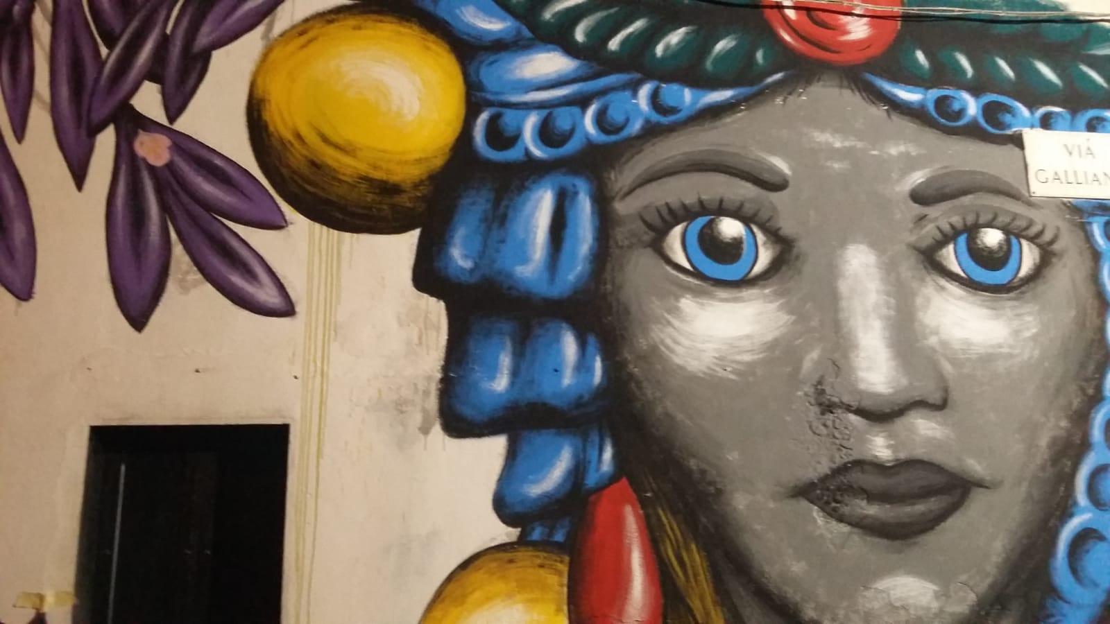 BADIA LOST & FOUND: L'ARTE COLORA LE STRADE DI LENTINI