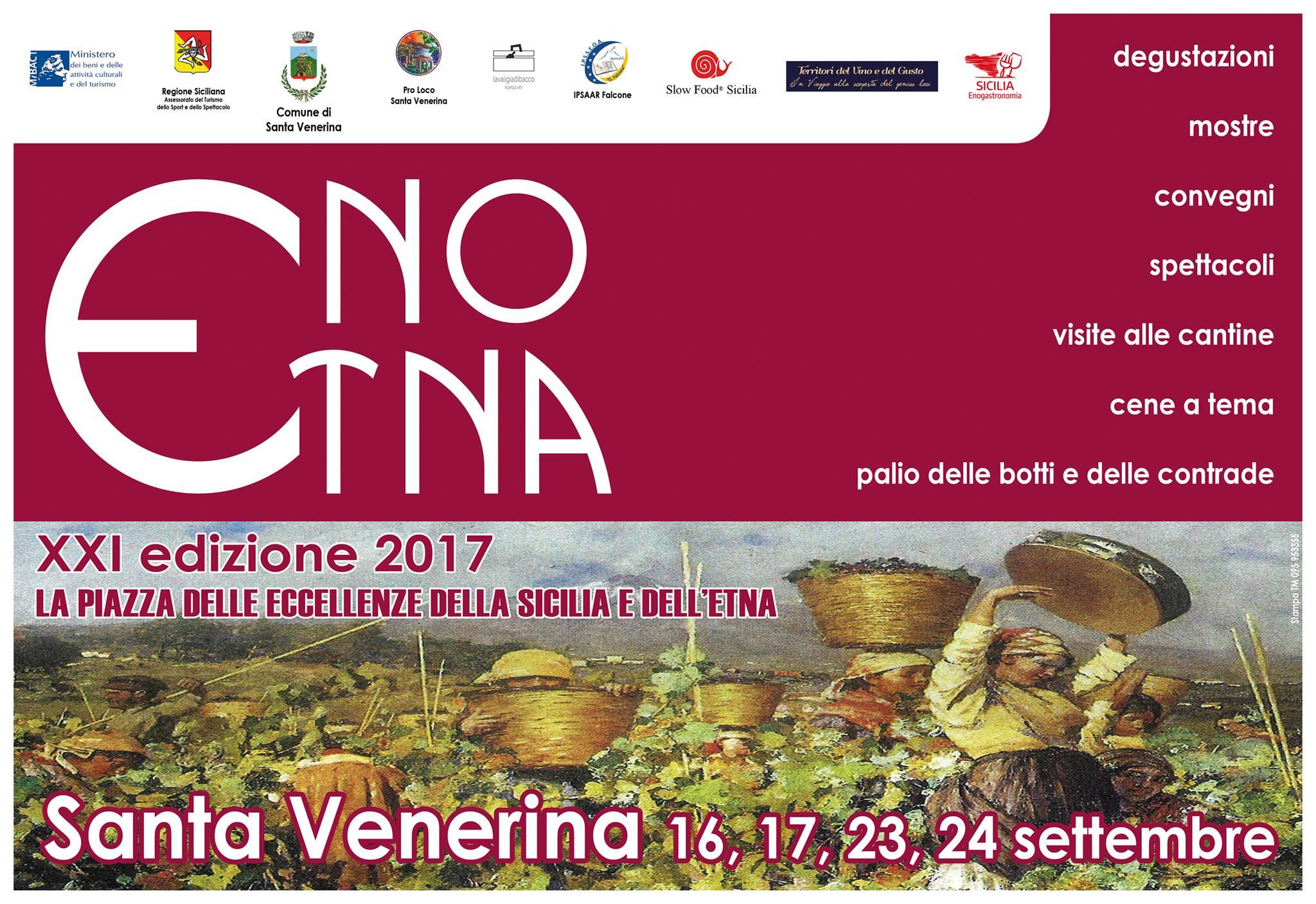 """""""EnoEtna"""" la festa del vino si fa ancora più grande per la 21^ edizione"""