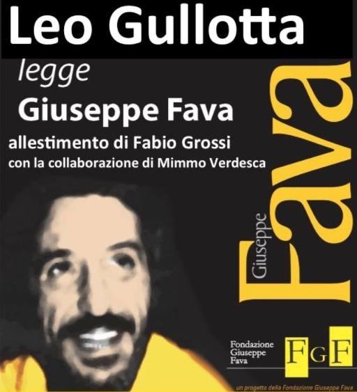 Leo Gullotta legge Pippo Fava a Catania