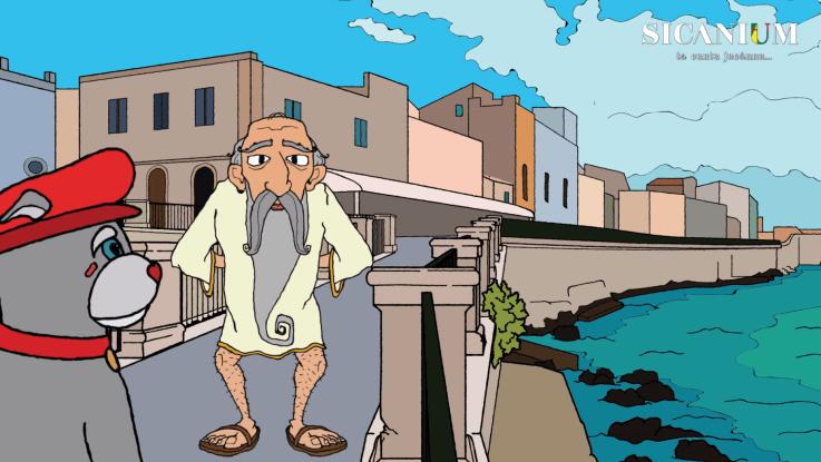 Il cartone animato che porta i bambini alla scoperta della Sicilia fa tappa a Siracusa. Arriva Caggiulino SICANIUM!