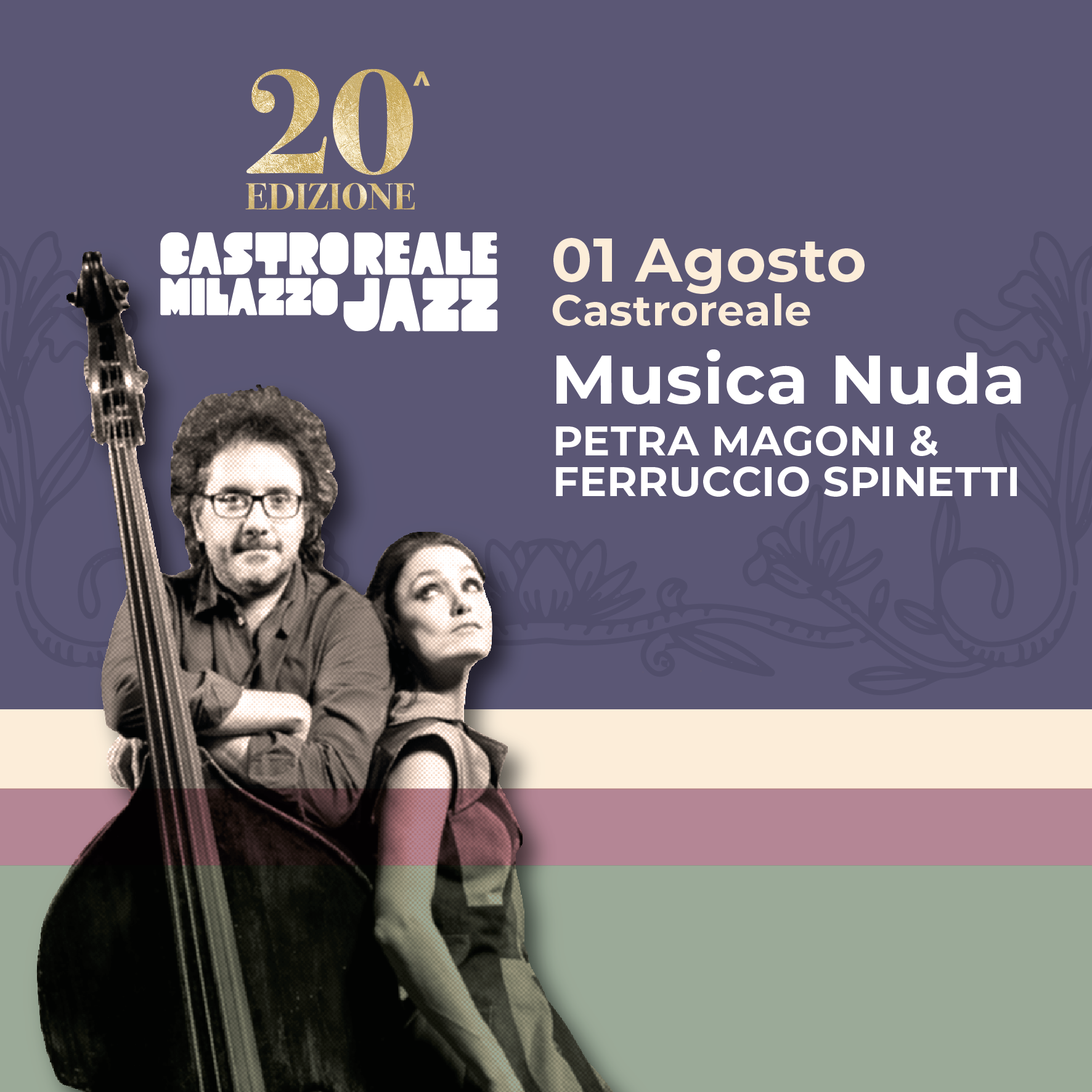 Castroreale Jazz festival, compie venti anni: il festival Jazz torna a Milazzo nell'estate 2020.