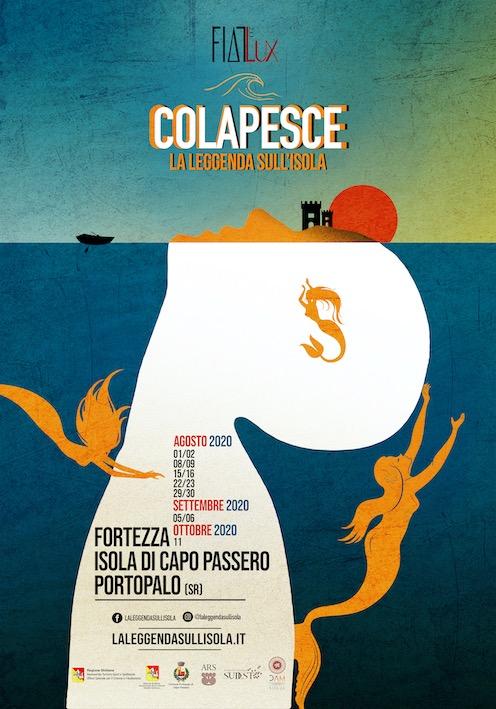"""""""Colapesce"""", il mito rivive nella Fortezza spagnola sull'isola di Capo Passero"""