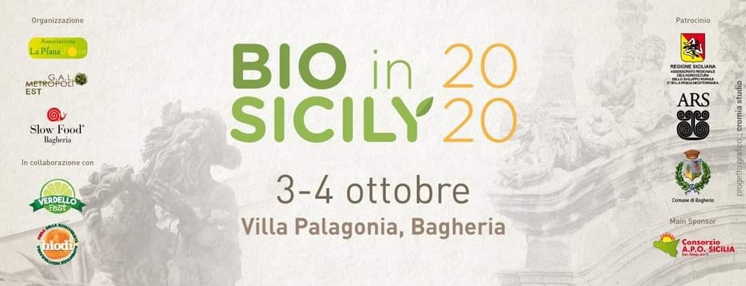 """Biodiversità e produzioni locali, a Bagheria arriva """"Bio in Sicily"""""""