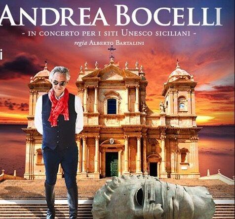 Noto: la musica di Bocelli e l'arte di Mitoraj per promuovere i siti Unesco siciliani