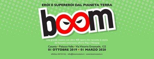 Catania fa Boom! Dal fumetto americano al Neopop