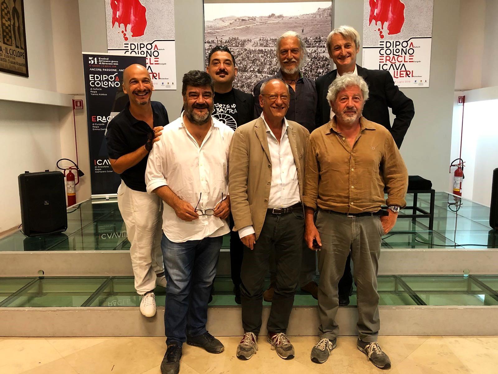 """Yannis Kokkos presenta il suo """"Edipo a Colono"""""""