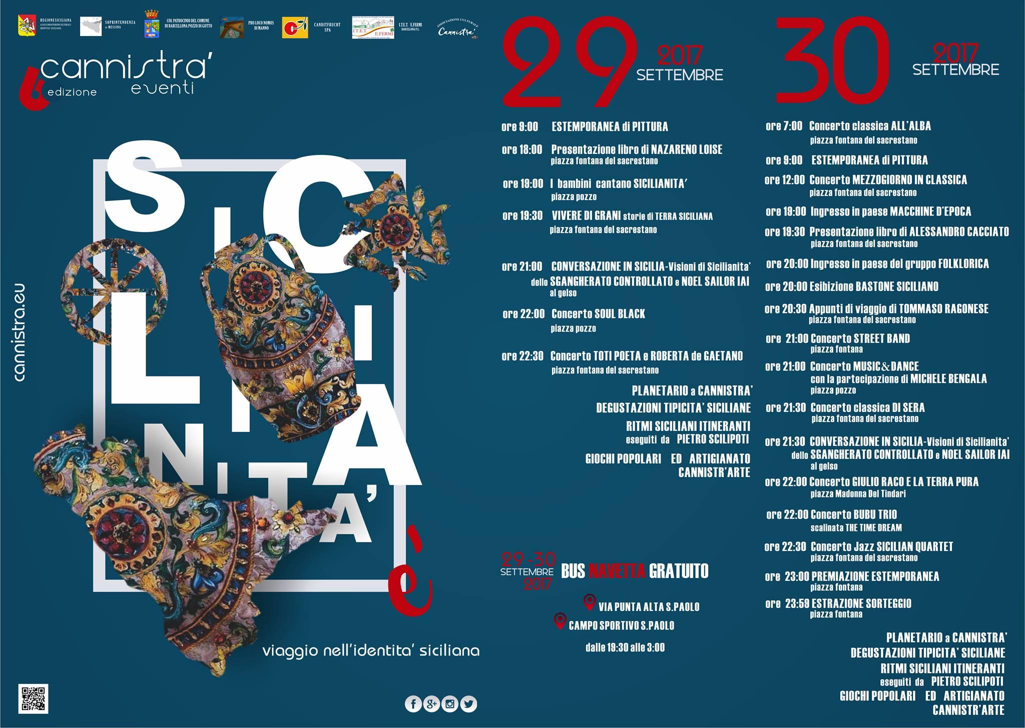 """Nel borgo di Cannistra' si va alla riscoperta dello spirito siciliano con """"Sicilianità è"""""""