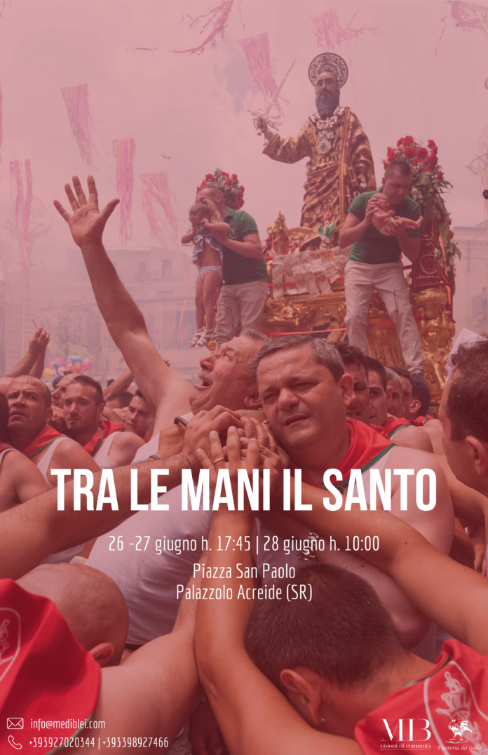 """Prima """"processione digitale"""" per S. Paolo a Palazzolo Acreide"""